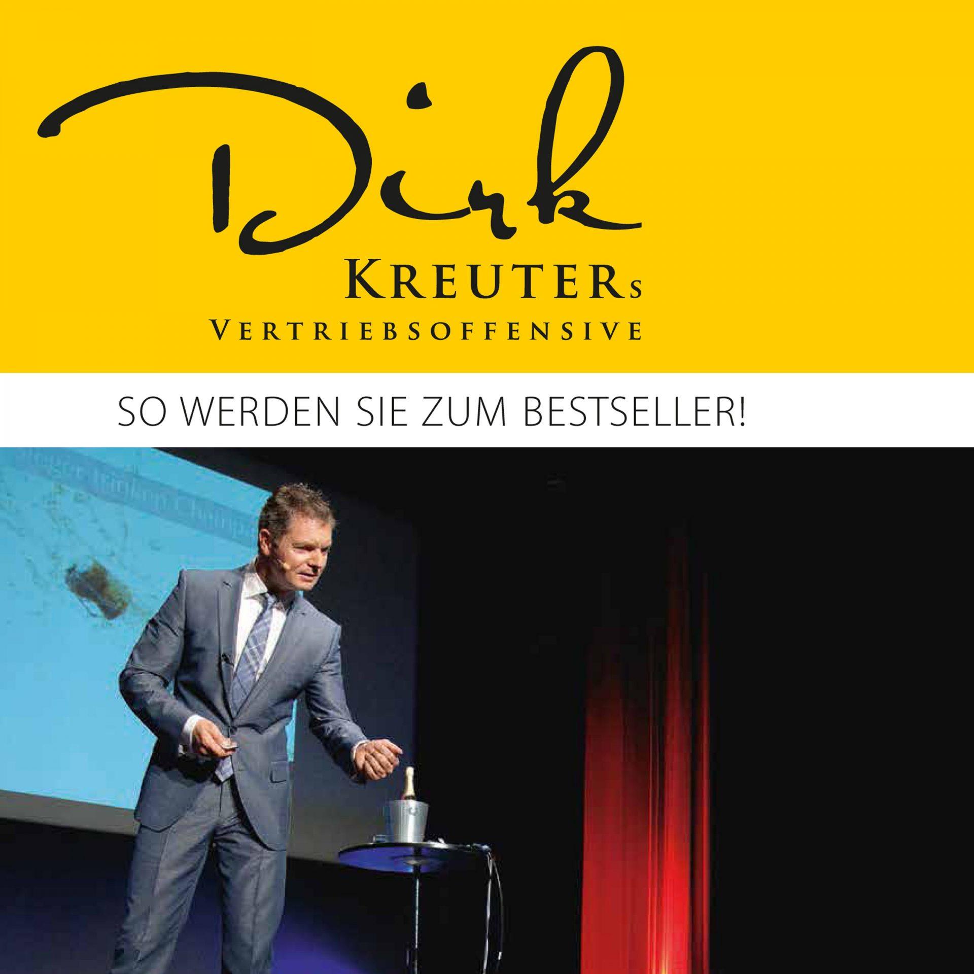 Dirk Kreuter – Vertriebsoffensive – Fast ausverkauft – Sei JETZT dabei!