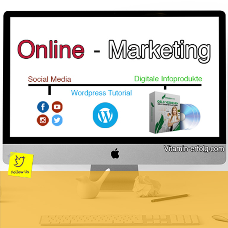 Online Marketing - vitaminerfolg