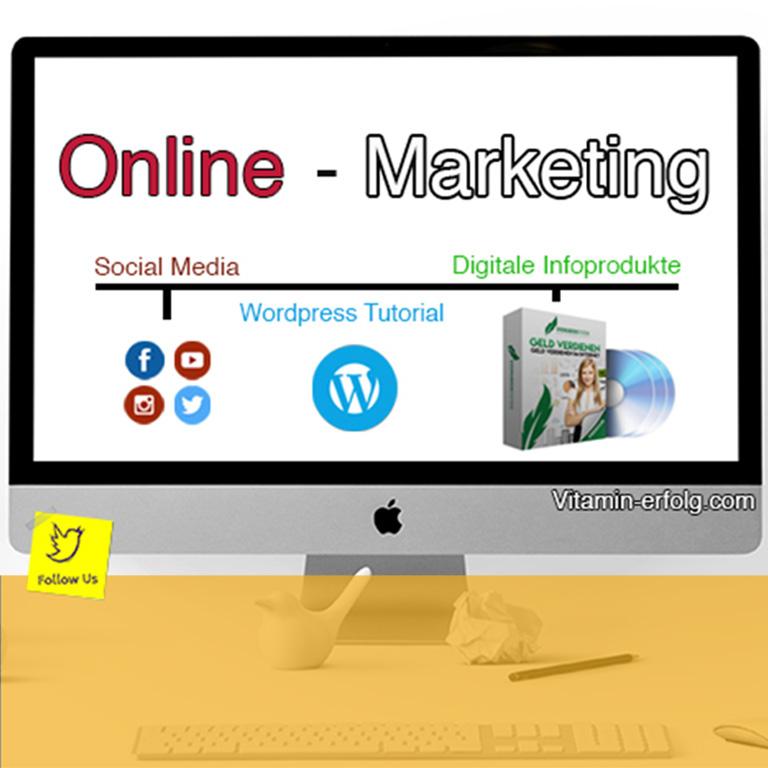 Online Marketing - vitaminerfolg