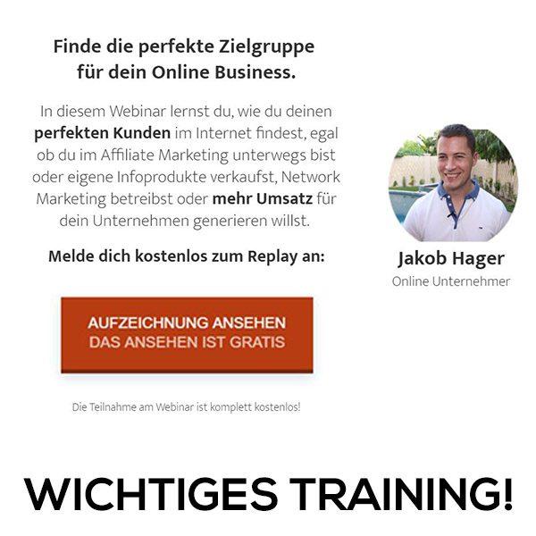 Wunschkundenformel Jakob Hager
