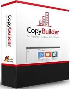 Werbetext Generator CopyBuilder Webinar Verkaufstexte