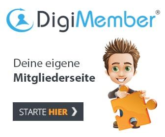 Digimember Mitgliederseite erstellen