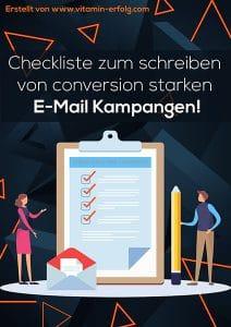 Conversion starke E-Mails schreiben