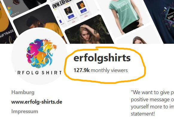 Pinterest Screenshot Erfolgshirts Brand1