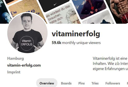 Pinterest Screenshot vitaminerfolg Brand1