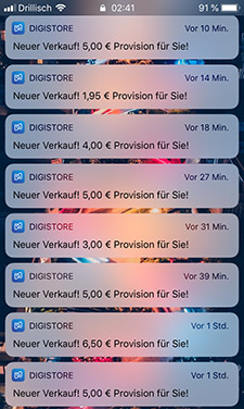 Screenshot Digistore24 Vitaminerfolg Nachts