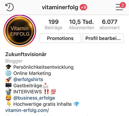 Instagram Reichweite aufbauen