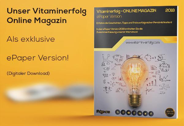 vitaminerfolg Online Magazin epaper Version