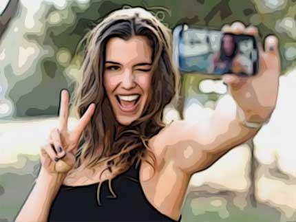 15 posen und Tipps für Selfies – Tipp 8
