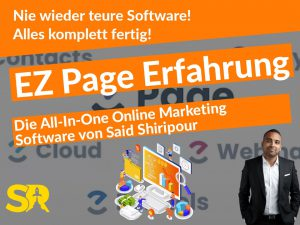 EZ Page Software Said Shiripour