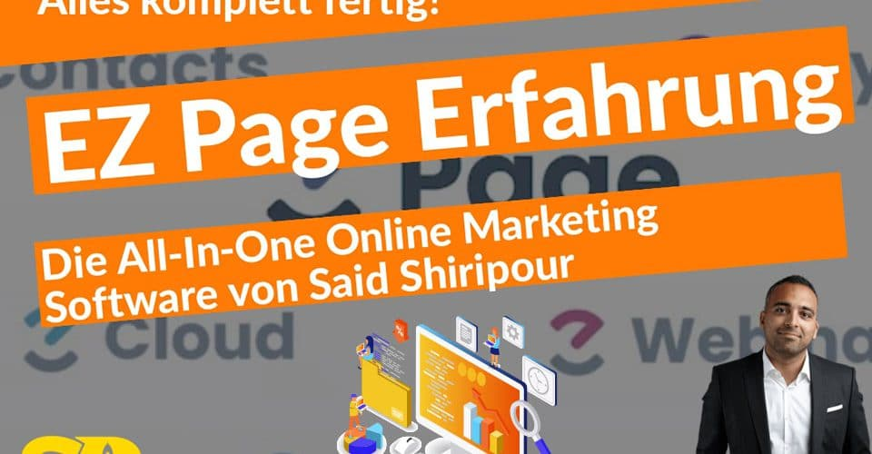 EZ Page Software Said Shiripour