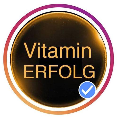 LOGO Vitaminerfolg für Webseite