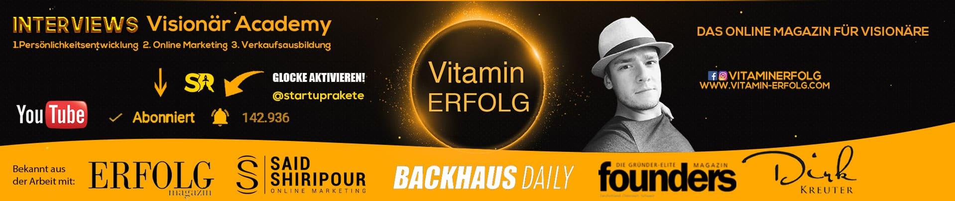 Vitaminerfolg Banner symetrisch youtube Startup rakete1 (1)