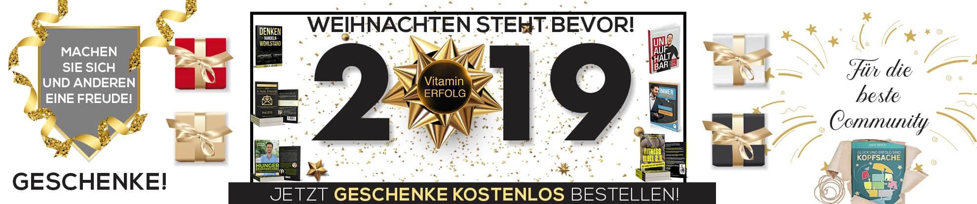 Dezember Vorweihnachten Banner Vitaminerfolg Kostenlose Bücher Gratis Bücher bestellen_1